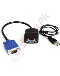 StarTech: 2-Port VGA Video Splitter (Black, USB Powered) - ST122LE