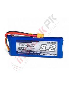 Turnigy - Lithium Ion Polymer LIPo Battery Pack 5200mAh 11.1V 3S 12C w/XT60