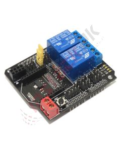 2 Channel Relay Shield Module for Arduino (with BTBee / XBee Interface)