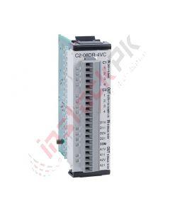 Koyo: CLICK PLUS Discrete/Analog Combo Module - C2-08DR-4VC