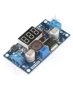 Adjustable Step Down Power Module With LED Voltmeter (LM2596)