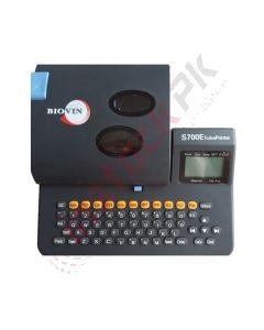 Biovin: Electronic Lettering Machine For PVC, Heat Shrink Tube Printer - S700E