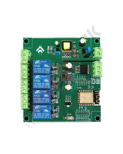 AC/DC Wifi 4 Channel Relay Board 5V with ESP12F - ESP12F_Relay_x4