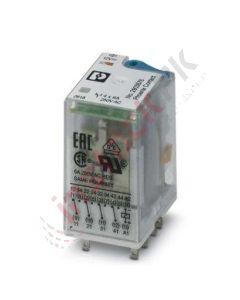 Phoenix Contact: Single relay - REL-IR4/LDP- 12DC/4X21 - 2903676