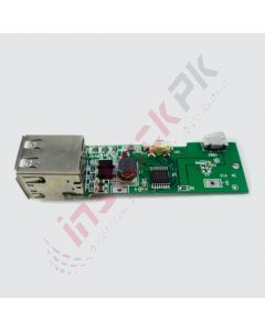 Dual USB Boost Convertor Mobile Charger Module (3.7~5V)