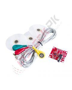 ECG Monitoring Sensor Module Kit AD8232