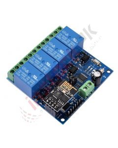 Relay Module 4 Channel 12V with Wifi ESP8266 for Iot Smart Home