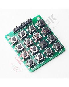 4X4 matrix keyboard Module (16 keys)