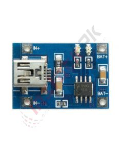 Mini Lithium TP4056-1A Battery Charger Module