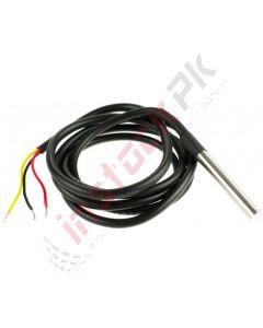 Liquid Temperature Sensor with Wire (WaterProof) DS18B20+