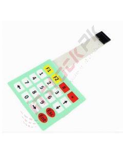 Matrix 20 Key Membrane Switch Keypad (4 x 5)
