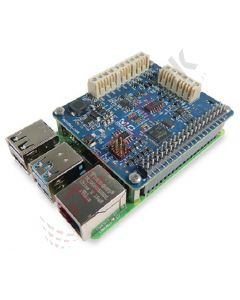 Measurement Computing: Voltage Measurement DAQ HAT for Raspberry Pi®, 16-bit, 100 kS/s - MCC128