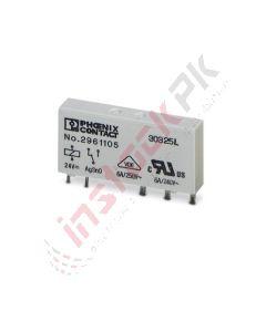 Phoenix Contact Single Relay- REL-MR- 24DC21 (2961105)