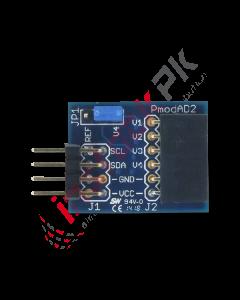 Digilent - Pmod AD2: 4-channel 12-bit A/D Converter