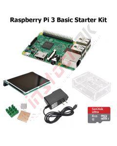 Raspberry Pi 3 Basic Starter Kit