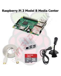 Raspberry Pi 3 Model B+ Plus Media Center Kit