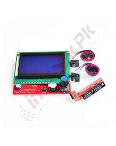 RepRap 3D Printer Smart Graphic LCD Controller RAMPS1.4 (128 X 64)