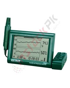 Extech: Humidity Temperature Chart Recorder with Detachable Probe RH-520A