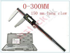 Digital Vernier Caliper 0-300mm with 150mm Long Jaw