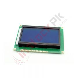 128x64 Graphic Character LCD Module (Blue 5V)