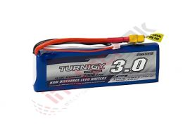 Turnigy - Lipo Battery Pack 3000mAh 7.4V 2S 40C w/XT-60