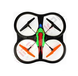 4.5-Channel UFO Quadcopter Drone Kit 2.4GHz (51CM)