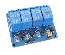 4-Channel Opto Isolated Relay Module