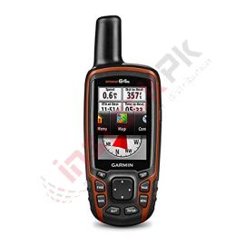 Garmin - GPSMAP® 64s Handheld GPS with GLONASS and Wireless Connectivity
