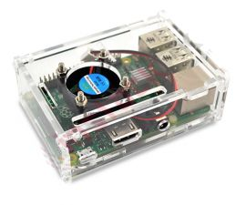 Raspberry Pi 3 Acrylic Plastic Enclosure