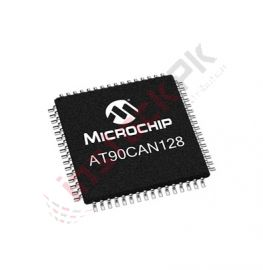 8-Bit Microcontroller IC AT90CAN128-16AU (16Mhz)