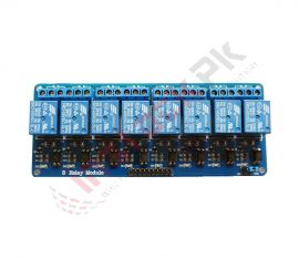 8-Channel Opto Isolated Relay Module