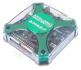 Digilent: Analog Discovery 2: 100MS/s USB Oscilloscope, Logic Analyzer, Variable Power Supply 410-321
