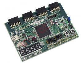 CoolRunner-II CPLD Starter Board