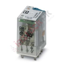 Phoenix Contact: Single relay - REL-IR2/LDP- 12DC/2X21 - 2903659