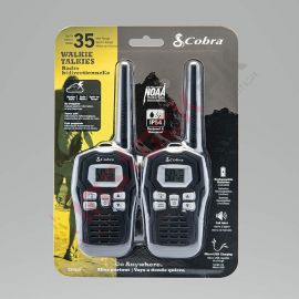 Cobra: Micro-Talk 35 Mile Two Way Radio WALKIE TALKIES (CXY805)