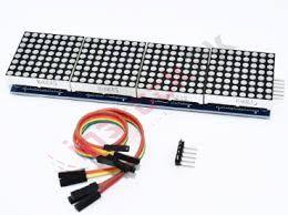 4-in-1 Dot Matrix LED Display Module MAX7219