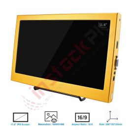 Elecrow: HDMI LED Display for Raspberry Pi SF116 11.6 Inch 1080P - DRD60311D