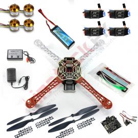 RC 4-Axises Multi QuadCopter Kit (V2.3) F02192-B