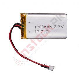 Lithium Polymer Battery 3.7V (1200mAh)