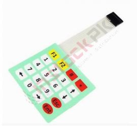 Matrix 20 Key Membrane Switch Keypad (4 x 5)
