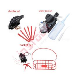 Quadcopter Accessories (Water Gun+Shooter+Basket)