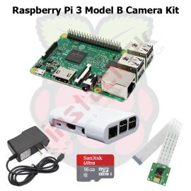 Raspberry Pi 3 Model B Camera Kit