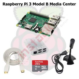 Raspberry Pi 3 Model B+ Plus Media Center Kit