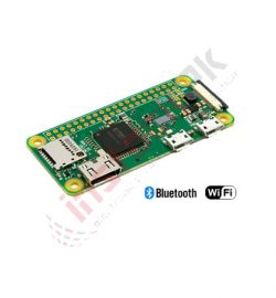 Raspberry Pi Zero W Board BCM2835 (V1.1) With Built In Wifi & Bluetooth