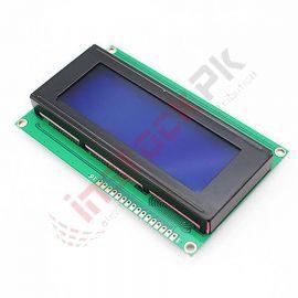 Standared HD44780 LCD Display Module Blue (20x4)