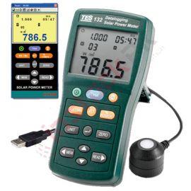 TES: Solar Power Meter Datalogging TES-132