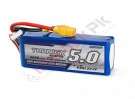 Turnigy: LIPO Battery Pack 5000mAh 6S1P 25C w/XT90