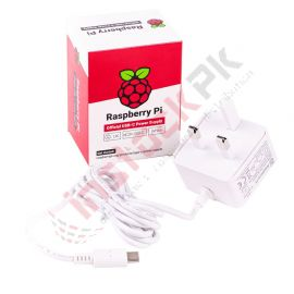 Raspberry Pi: Official RPi 4 Power Supply USB-C 15.3W (5.1V 3A)