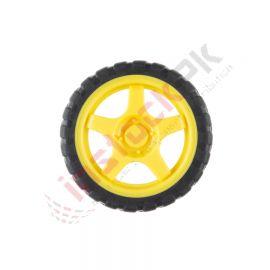 Wheel - 65mm (Rubber Tire)