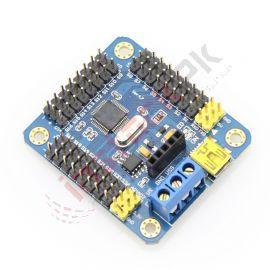 16-channel USB Servo Controller Module